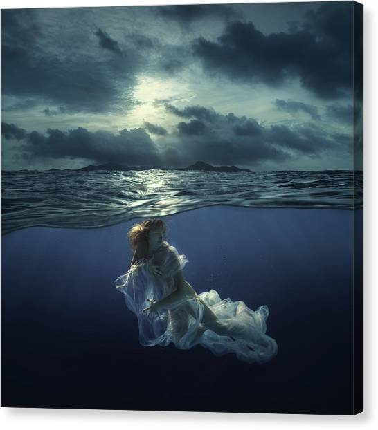 Elegance Canvas Print - Sea Tale by Dmitry Laudin