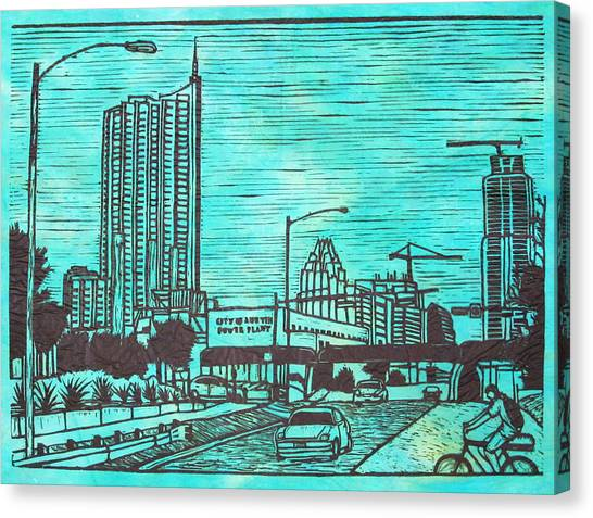 Seaholm Canvas Print by William Cauthern