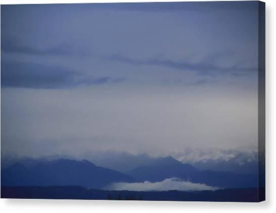 Seattle Blue Canvas Print