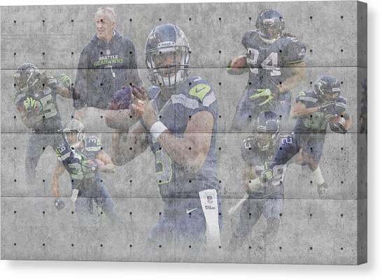 Seahawks Helmet Canvas Prints (Page #3 of 8) | Fine Art America