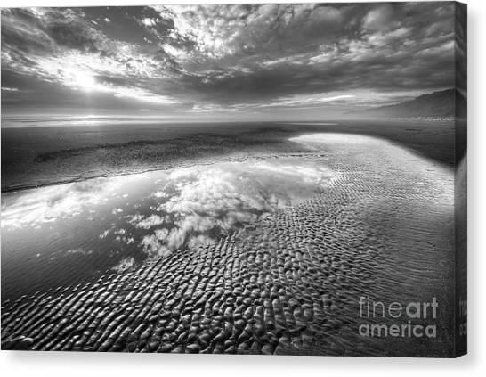 Olympic National Park Canvas Print - Second Beach by Twenty Two North Photography