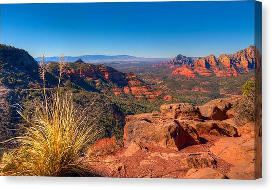 Sedona Hike Canvas Print