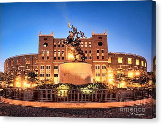 Seminole Fire - Unconquered Canvas Print