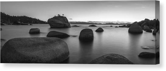 Lake Canvas Print - Serenity by Brad Scott