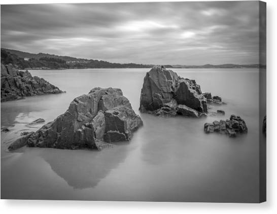 Seselle Beach Galicia Spain Canvas Print