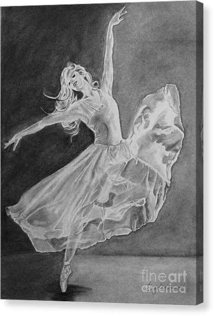 Shadow Dancer Canvas Print