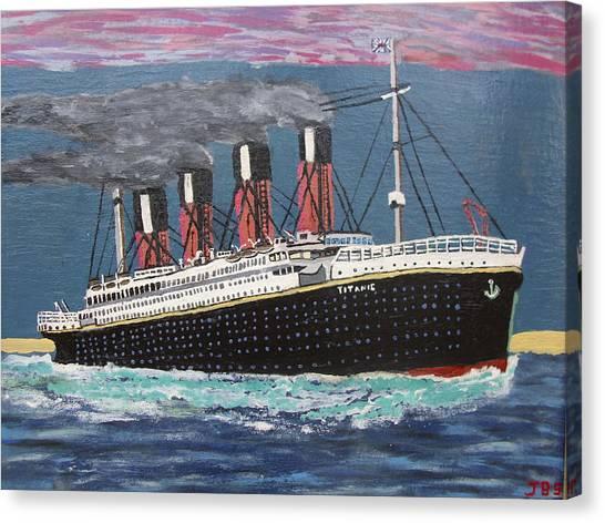 Ship Of Dreams Canvas Print by Jose Bernal