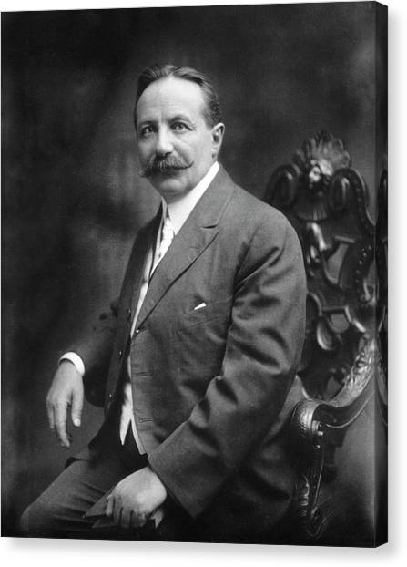 Controversial Canvas Print - Sigard Knopf by National Library Of Medicine