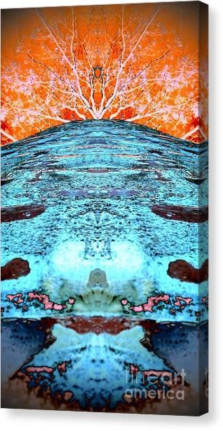 Silo Abstract Canvas Print
