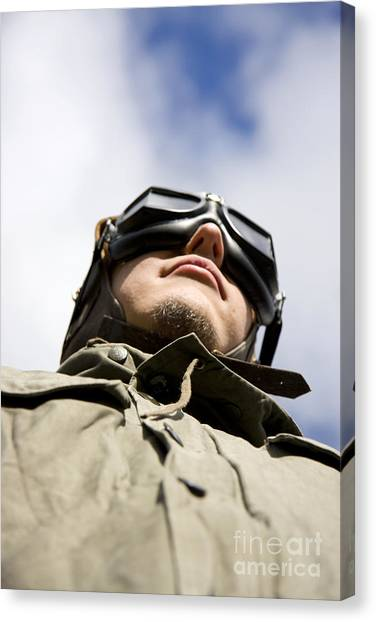 Aviators Canvas Print - Sky Bound Aspirations by Jorgo Photography - Wall Art Gallery