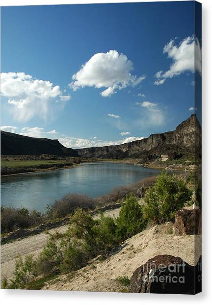 711p Snake River Birds Of Prey Area Canvas Print