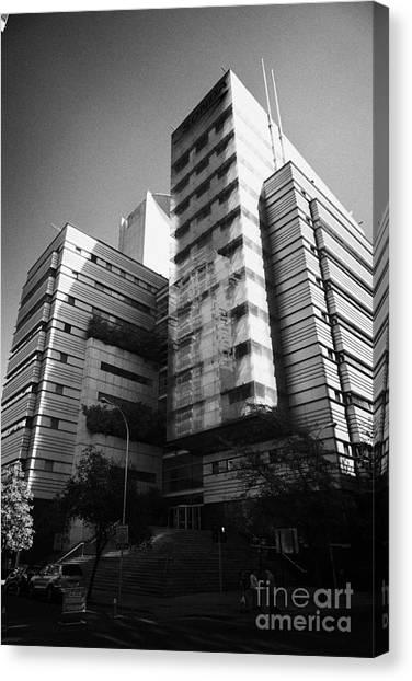 sonda it company headquarters Santiago Chile Canvas Print by Joe Fox