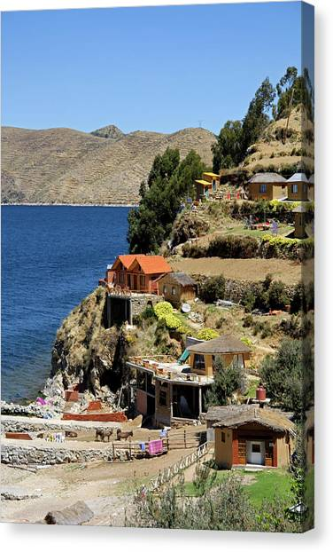 Bolivian Canvas Print - South America, Bolivia, Sun Island by Kymri Wilt