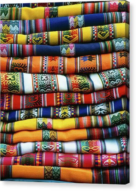 Peruvian Canvas Print - South America, Peru, Near Cusco by Jaynes Gallery