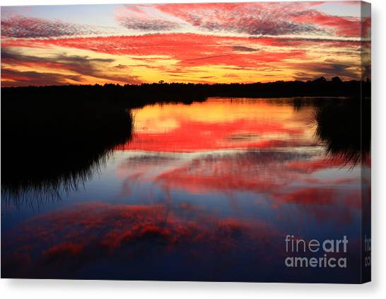 South Ponte Vedra Coast Canvas Print