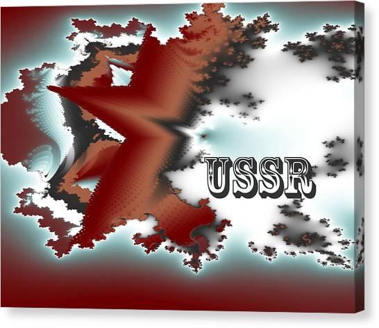 Soviet Union Canvas Print