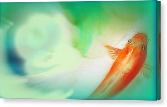 Spa Time Canvas Print by Wendy Wiese
