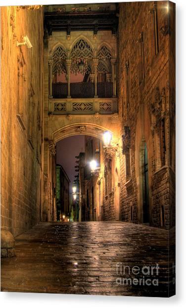 Spirit Of Gaudi Canvas Print