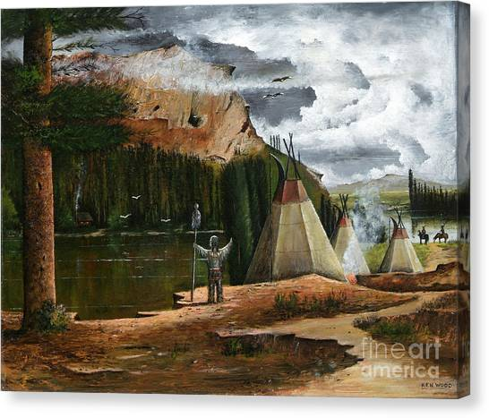 Spiritual Home Canvas Print
