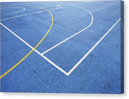 Sports Court Canvas Print