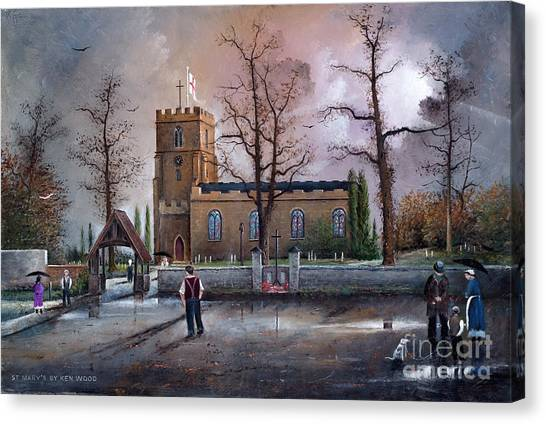St Marys Church - Kingswinford Canvas Print