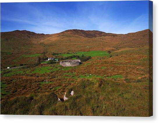 Moorland Canvas Print - Staigue Fort At 2,500 Years Old One by Panoramic Images
