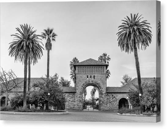 Junior College Canvas Print - Stanford University Arched Entrance To The Main Quad by Priya Ghose