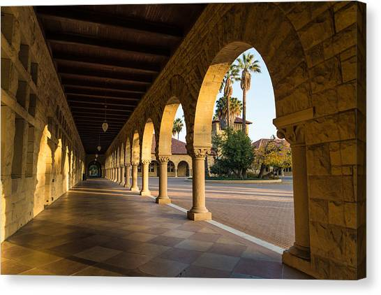 Junior College Canvas Print - Stanford University Arches by Priya Ghose