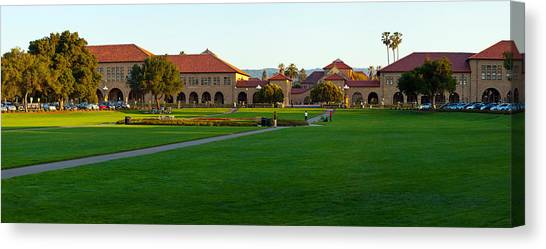 Stanford Canvas Print - Stanford University Campus, Palo Alto by Panoramic Images