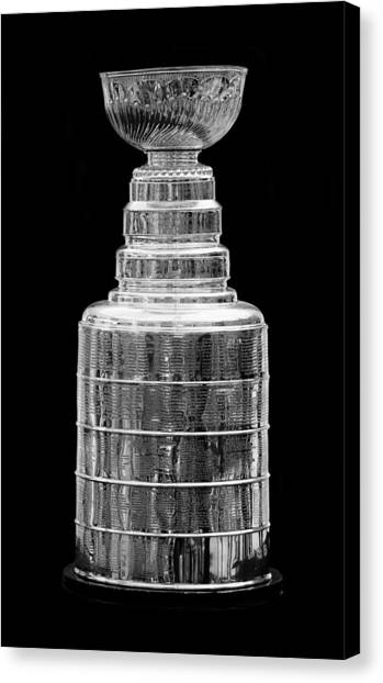 Los Angeles Kings Canvas Print - Stanley Cup 1 by Andrew Fare