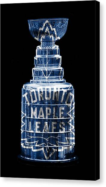 Toronto Maple Leafs Canvas Print - Stanley Cup 2 by Andrew Fare