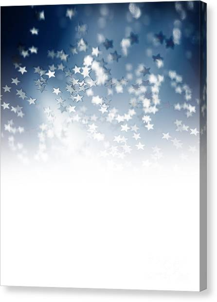 new year eve canvas print starry border by anna om