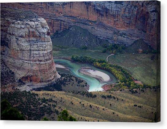 Steamboat Rock Canvas Print
