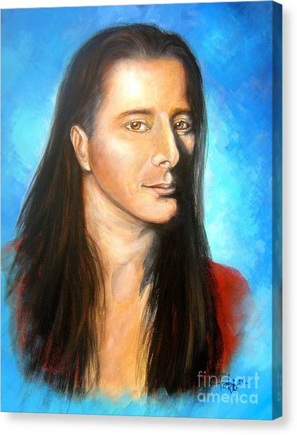 Steve Perry Canvas Print