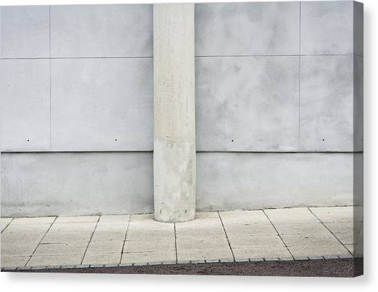 Academic Art Canvas Print - Stone Pillar by Tom Gowanlock
