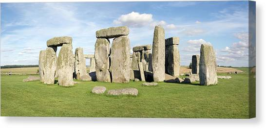 Canvas Print - Stonehenge by Daniel Sambraus/science Photo Library