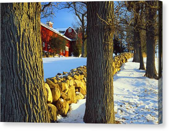 Stonewall Farm Canvas Print