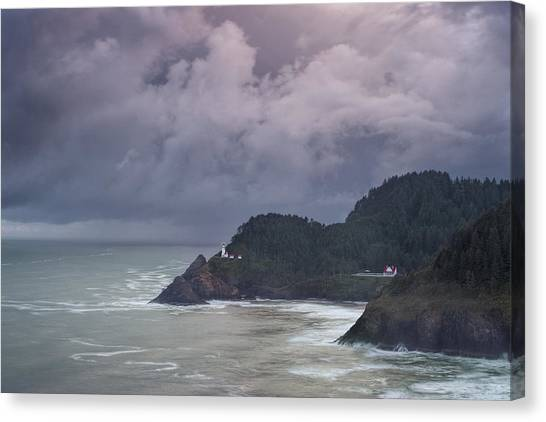 Storm Rolling In Canvas Print by Andrew Soundarajan