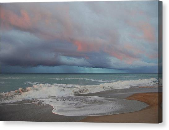 Storms Comin' Canvas Print