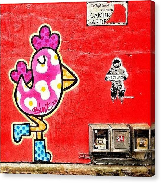 Astronauts Canvas Print - #street #street_photo #streetart by Stan Chashchnikov