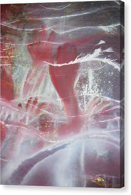 String Theory - Praise Canvas Print