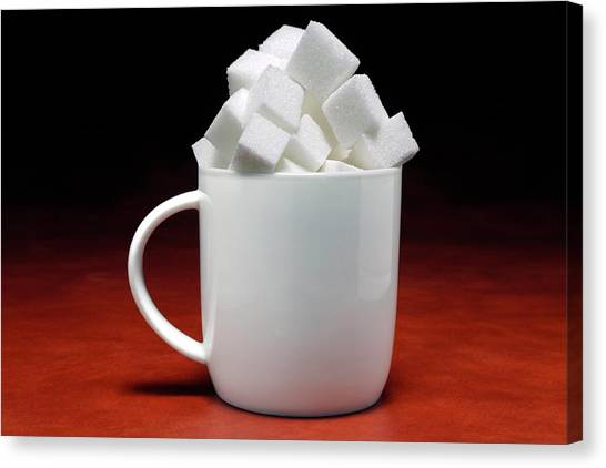 Sweet Tea Canvas Print - Sugary Drinks by Victor De Schwanberg