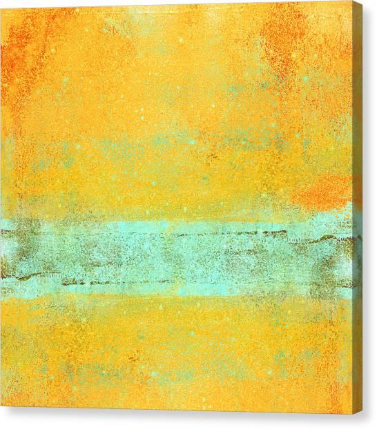 Sun Canvas Print - Summer Days by Carol Leigh