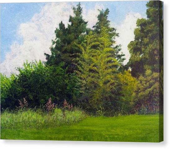 Canvas Print featuring the painting Summer by Jeanette Jarmon