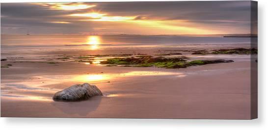 Sunrise At Nairn Beach Canvas Print