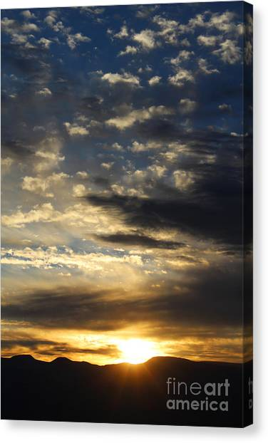 Sunrise From Mt. Elbert Canvas Print