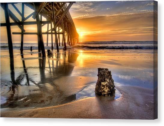 Sunrise In Myrtle Beach Canvas Print