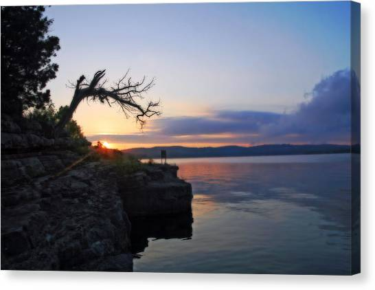 Sunrise Over Table Rock Lake Canvas Print