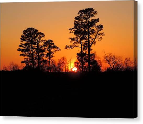 Sunset 7 Canvas Print by Stephanie Kendall