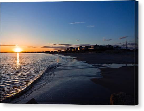 Sunset Canvas Print by Jonathon Shipman